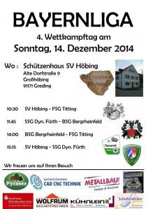 Flyer Heimkampf 14.12.2014
