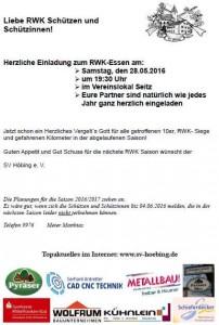 Einladung RWK Essen 2016
